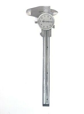 Brown Sharpe 5791 Swiss Made Stainless Shook Proof Tempered Dial Caliper