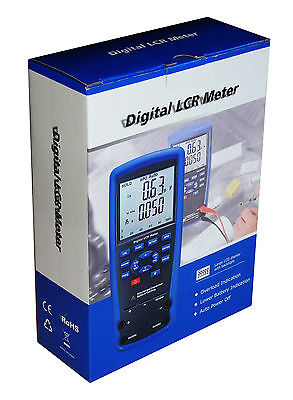 Professional Dt-9935 Lcr Meter Kelvin 4-wire Ohm Inductance Capacitance Q D New
