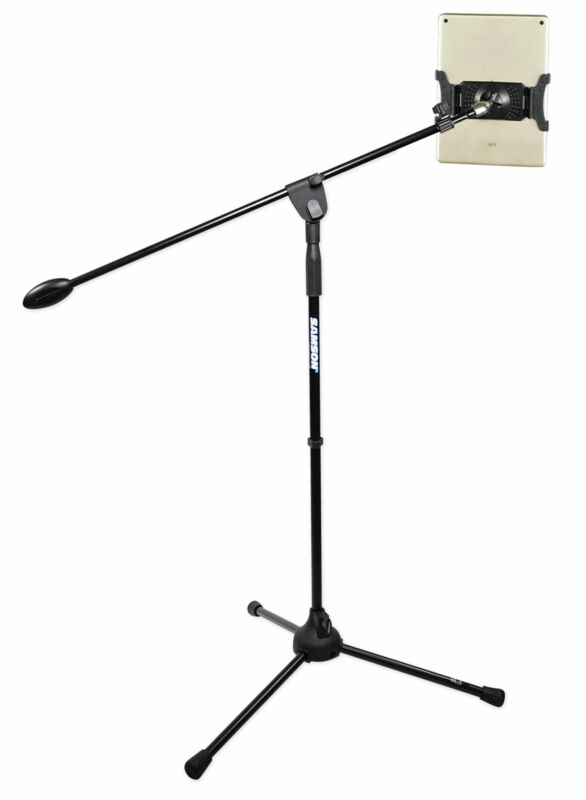"Samson iPad/iPhone/Android/Tablet Youtube Karaoke Music Stand w/31"" Boom"