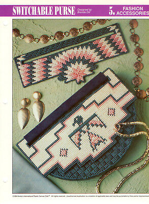 Switchable Purse Plastic Canvas Pattern - Useful Items