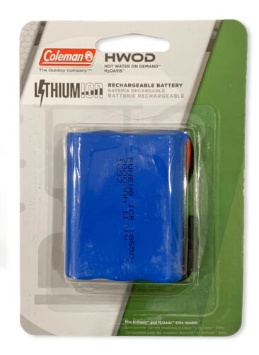 Coleman H2Oasis & Elite Hot Water on Demand Replacement Rechargeable Battery