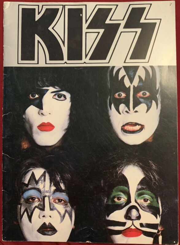 KISS band 1979 Dynasty tour book program Gene Simmons Paul Stanley Ace Frehley