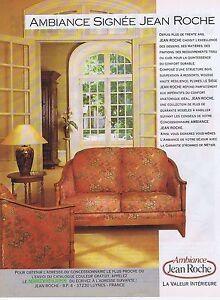 publicite advertising 045 1990 jean roche fauteuils meubles ebay. Black Bedroom Furniture Sets. Home Design Ideas