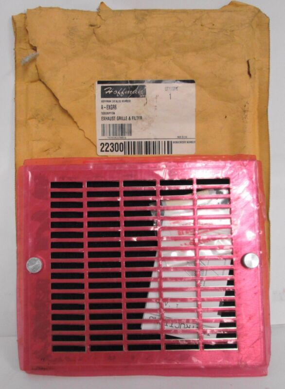 Hoffman A-EXGR6 Exhaust Grille & Filter