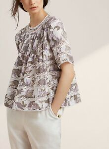 Wilfred floral beaudry blouse
