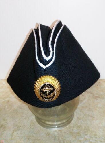 PILOTKA soviet russian red navy soldier sailor uniform garrison cap RUSSIAN USSR