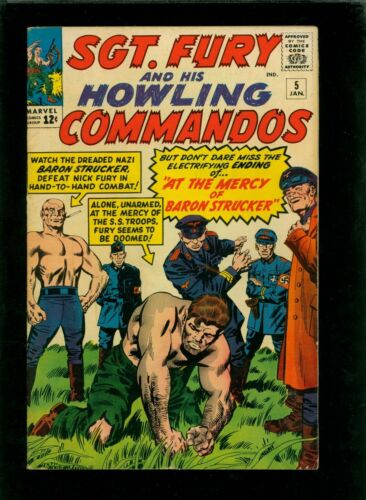 Sgt. Fury and His Howling Commandos 5 FN 6.0