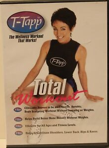 T-Tapp Total Workout DVD rehabilitative Rehab Workout Fitness Basic Plus
