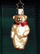 Blown Glass Bear Ornaments