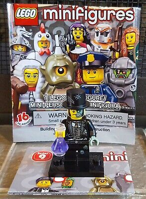 LEGO Minifigures Series 9 Mr. Good and Evil 100% Complete Authentic Minifigure