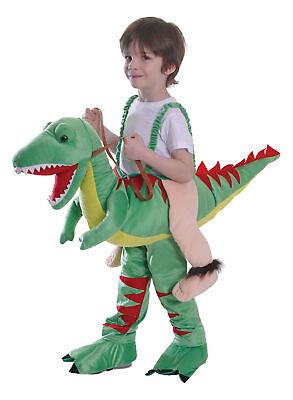 Schritt Dinosaurier T Rex Kostüm Jungen Mädchen Tier Kostüm Outfit - Kind Grün T Rex Kostüm