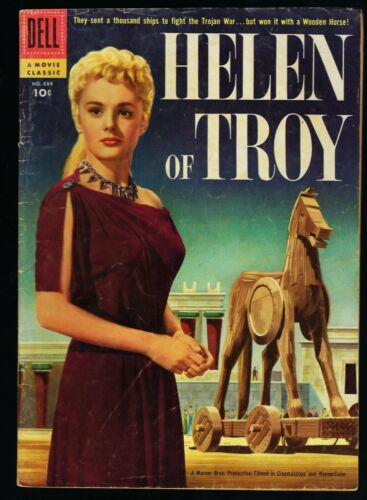 FOUR COLOR #684 HELEN OF TROY COMIC ( DELL ) SILVER AGE 1956