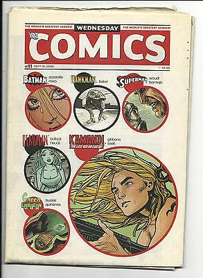 WEDNESDAY COMICS # 11 of 12 (DC COMICS, 16 SEPT 2009), VF