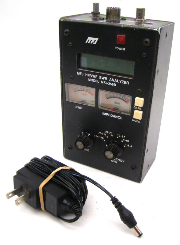 MFJ-259B SWR Standing Wave Ratio Radio Antenna Analyzer 1.8-170 Mhz  Meter LotA