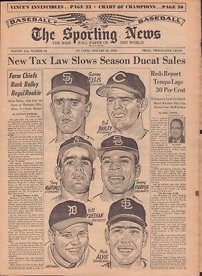 The Sporting News Magazine January 19 1963 Bing Devine 091117Jhsn3
