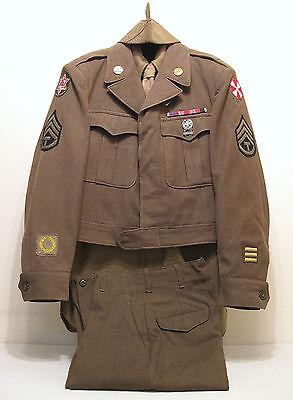 WW2 WWII U.S. Army EM Wool Uniform Complete Original in Excellent Condition