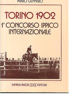 GENNERO MARIO TORINO 1902 CONCORSO IPPICO INTERNAZIONALE PIAZZA 1984 TORINO