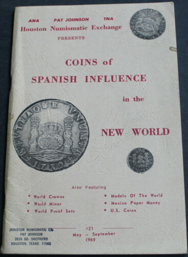 Coins Of Spanish Influence In The New World 1969 Guatemala, Mexico + more Scarce