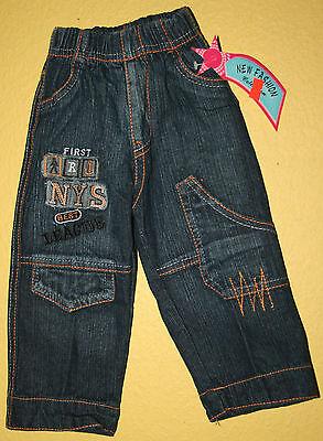 Blaue Kinder-jeans (