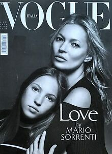 VOGUE Magazine  ITALIA June 2016   KATE MOSS Lila Grace Mario Sorrenti NEW