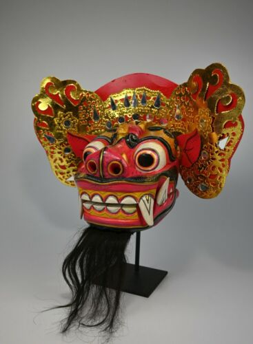 Barong Dance mask Demon / Lion from Bali, Indonesia