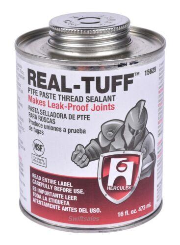 Hercules Real-Tuff 15625 PTFE Paste Thread Sealant 16 fl. oz. 473ml Can w/ Brush