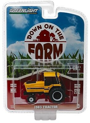 1:64 GreenLight *DOWN ON THE FARM* IH International 3488 Industrial Tractor NIP!