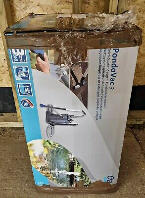 OASE PONDOVAC 3 POND VACUUM USED ONCE STILL IN BOX COMPLETE