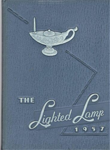 "1957 ""Lighted Lamp""- High Point NC Memorial Hospital School of Nursing Yearbook+"