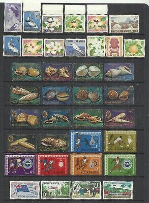 (A150) Cook Islands - 1960s–1980s UM Selection (12 Scans)