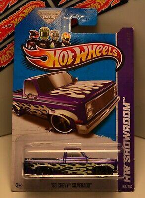 HOT WHEELS 2013 HW SHOWROOM™ '83 CHEVY® SILVERADO™ HTF PURPLE!