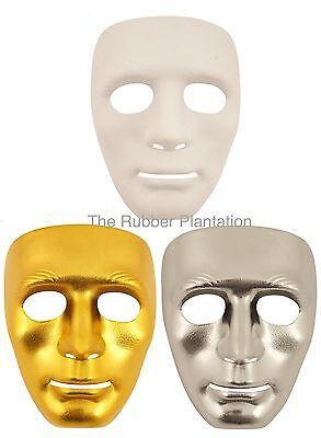 Mime Mask The Purge Robot Dance Crew Halloween Hockey Hip Hop Jabbawockeez Masks (Jabbawockeez Maske)