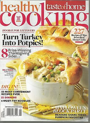 Taste of Home Healthy Cooking October November 2012 Halloween Block Party/Potpie - Healthy Halloween Party