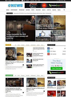 NEWS Website run Auto  Pilot