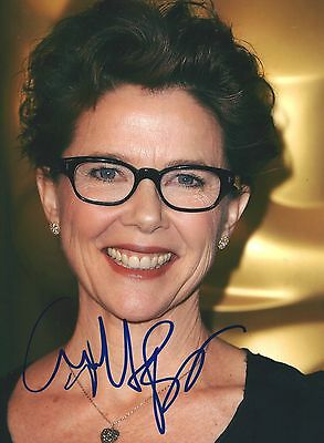 Annette Bening Signed 8X10 Photo   Bugsy  American Beauty