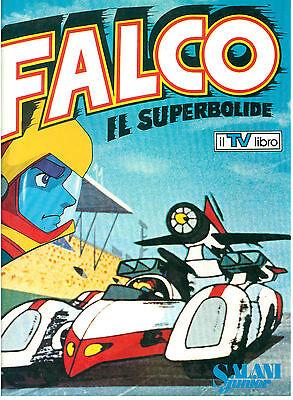 FALCO IL SUPERBOLIDE SALANI JUNIOR 1980 IL TV LIBRO INFANZIA GATTIGER SUPERCAR