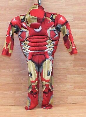 Genuine Marvel (s15) Toddler Halloween Costume Outfit W/ Matching Mask **READ**  - Matching Toddler Halloween Costumes