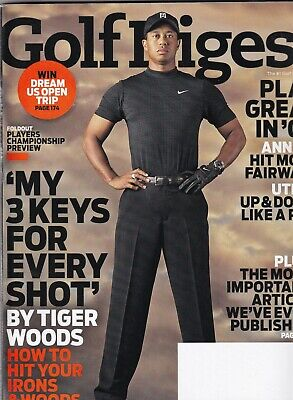 Golf Digest Irons - Golf Digest Mag Tiger Woods How To Hit Your Irons & Wood May 2008 070219nonr