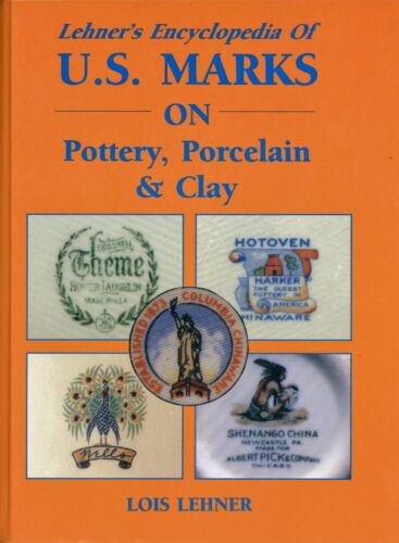 Marks Hallmarks on Pottery Porcelain Clay - History Makers Dates / Massive Book