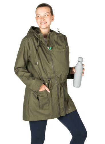 Maternity Jacket Military Style Lara 3-in-1