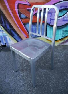 New Replica Emeco Navy Chairs Metal Galvanised Outdoor Furniture