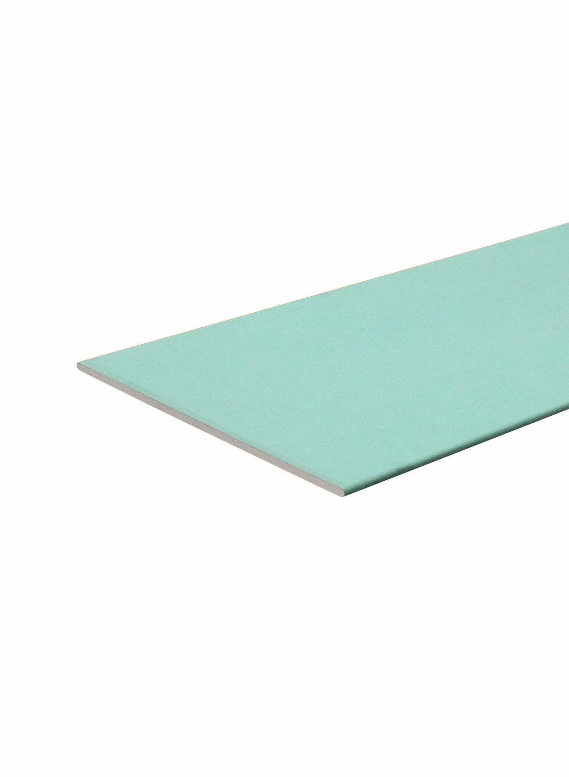 Gipskartonplatte 2000 x 1250 x 12,5 mm FEUCHTRAUM imprägniert Gipskarton
