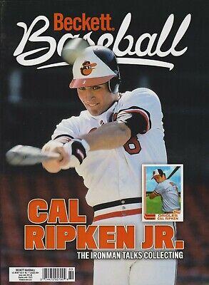 Current Baseball Beckett Price Guide Magazine January 2021 Cal Ripken Jr