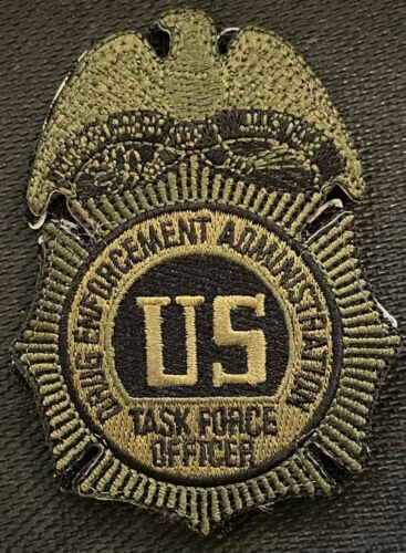 DEA special edition Task Force Officer SecondGEN TB + hook patch - Very Rare