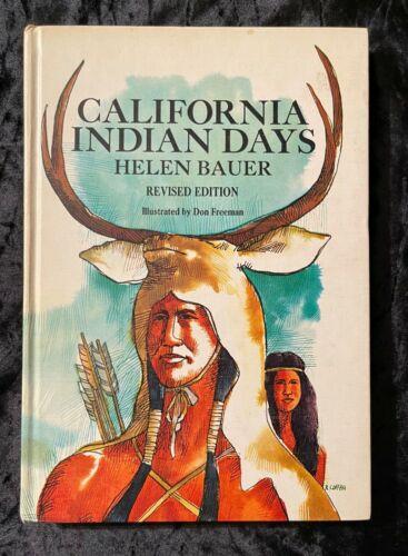 CALIFORNIA INDIAN DAYS BOOK HARDBACK