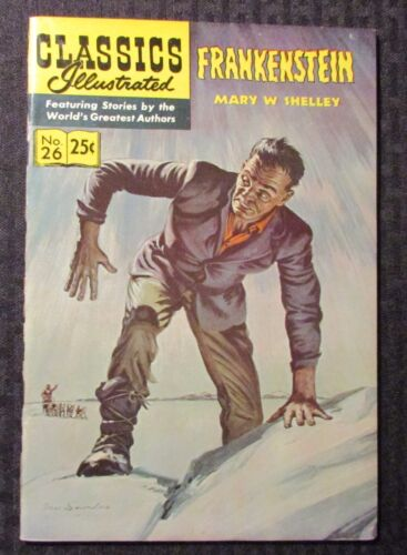 1971 CLASSICS ILLUSTRATED #26 FN 6.0 Mary Shelly Frankenstein