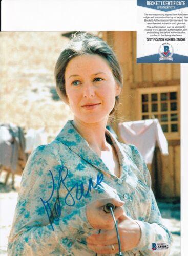 KAREN GRASSLE signed (LITTLE HOUSE ON THE PRAIRIE) 8X10 BECKETT BAS Z89082