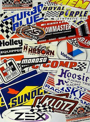 Racing Decals Sticker Lot Set 26+ In Pairs Grab Bag Race Cars Toolboxes RANDOM