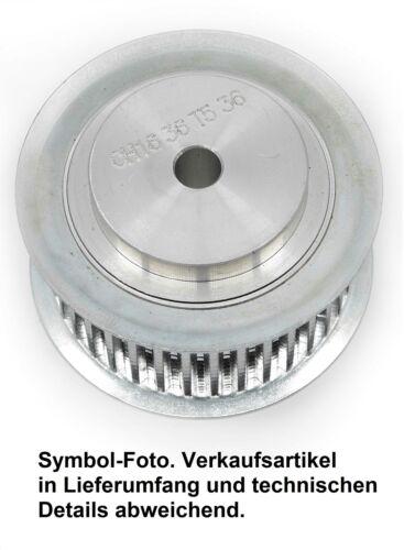 Zahnriemenscheibe für Taperbuchse, HTD 8M20 / 22–40 Zähne, Stahl + TB (optional)