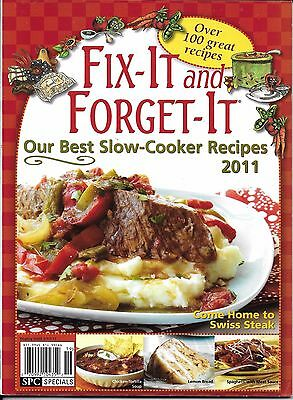 Fix It And Forget It Magazine Best Slow Cooker Recipes Swiss Steak Chicken